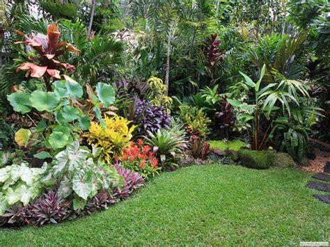 Jardin De Simple by Simple Tropical Garden Design For Small Spaces Garden