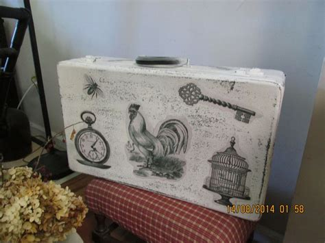 How To Decoupage A Suitcase - top 231 ideas about suit cases on vintage