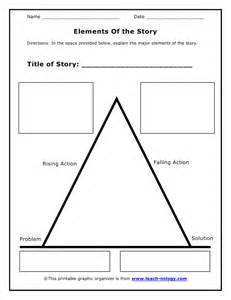 elements of the story organizer