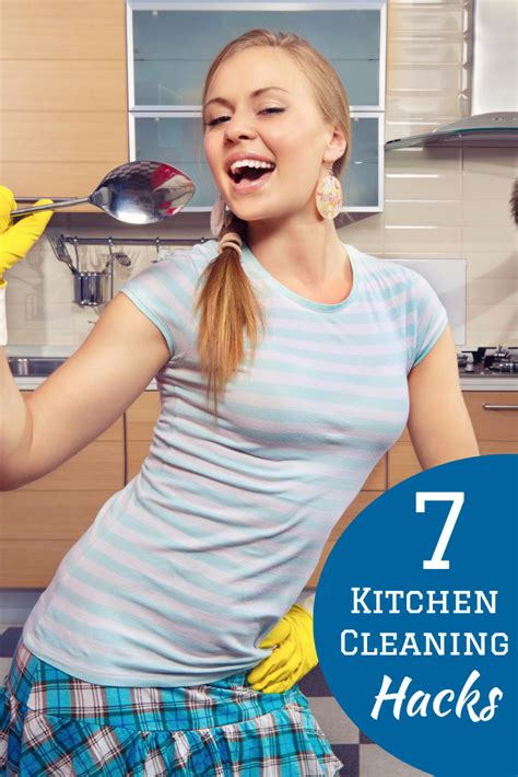 7 quick and easy kitchen cleaning ideas that really work