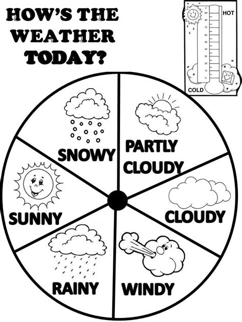 weather coloring pages pdf weather coloring pages printable coloring home