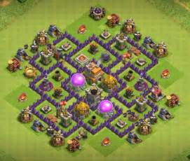 Best coc town hall th7 defense bases 2017 3 air defense