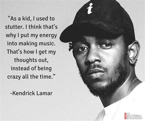 kendrick lamar quora are there any successfull and famous stammerers other than