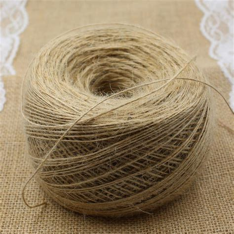 Decorative Twine by Aliexpress Buy Hp006 1mm Thin Rope Jute
