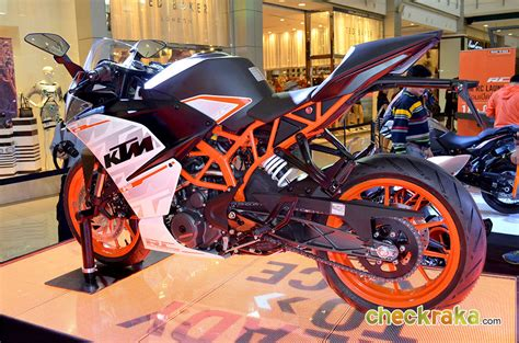 Bkk To Ktm Ktm Rc 390 2015 มอเตอร ไซค ราคา 214 900 บาท เคท เอ มอาร ซ