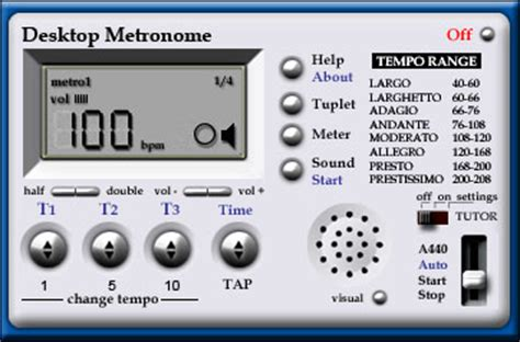 Duplets by Software Metronome Metronome Software For Windows