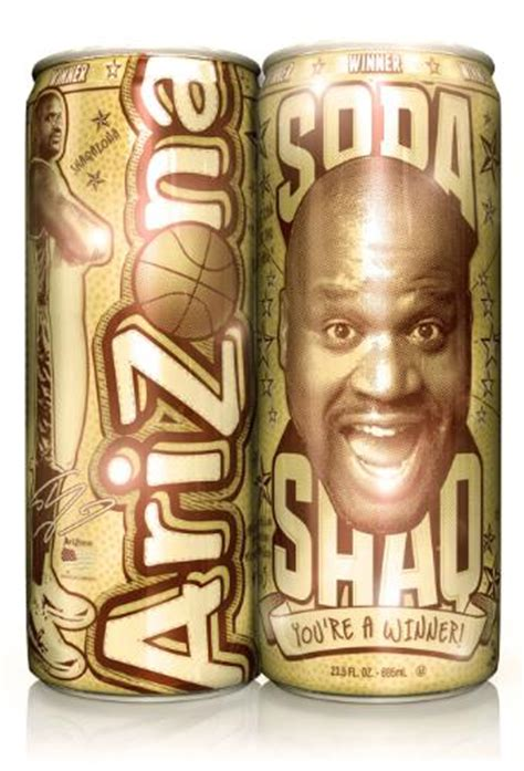 shaquille o neal energy drink arizona beverages and 7 eleven launch quot soda shaq golden