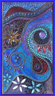 ideas mosaic wall: twilight dreams mosaic by cathy heery more