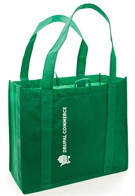 go green with drupal commerce reusable tote bag commerce