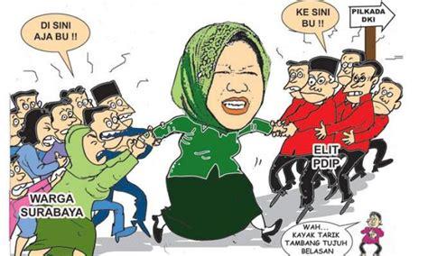 Sho Kuda Surabaya risma ahok dalam pusaran sandiwara pdip redaksi indonesia jernih tajam mencerahkan