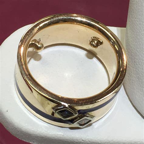custom s wedding band minneapolis johantgen jewelers