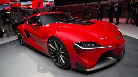 toyota supercar toyota ft 1 concept car revealed luxury hybrid supercar