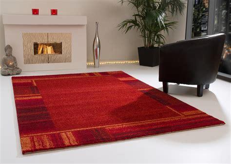 designer teppich modern designer teppich modern dijon kuschelflor creme rot grau
