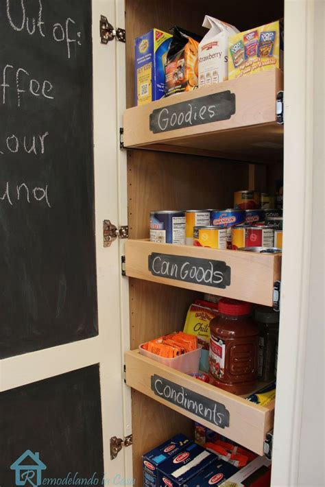 how to a pantry out of a bookcase 17 best ideas about pull out shelves on pull