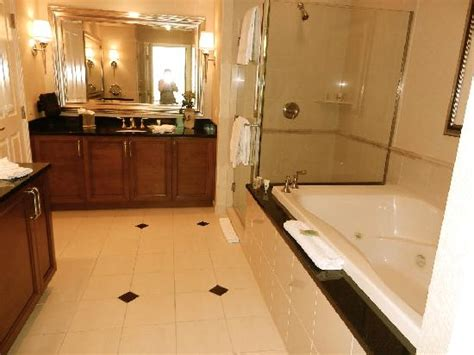 mgm grand bathroom beautiful spacious bathroom picture of signature at mgm grand las vegas tripadvisor