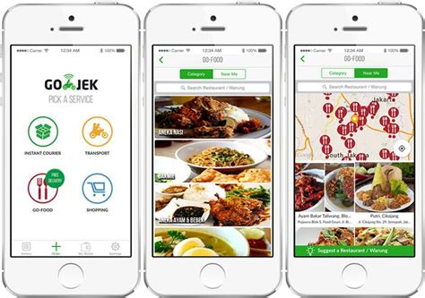 Delivery By Gojek go jek luncurkan layanan delivery makanan go food