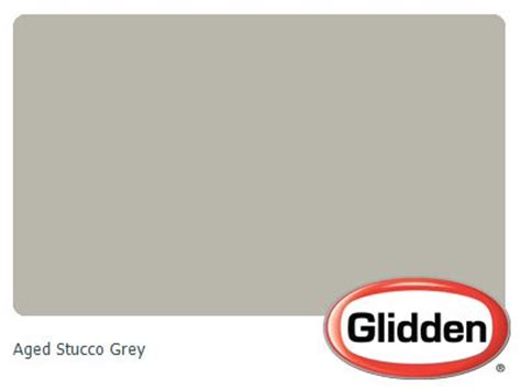 glidden candlestick silver aged stucco grey paint color paint sles corrdinated