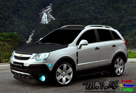 chevrolet captiva modified the best cars of tuning do internauta