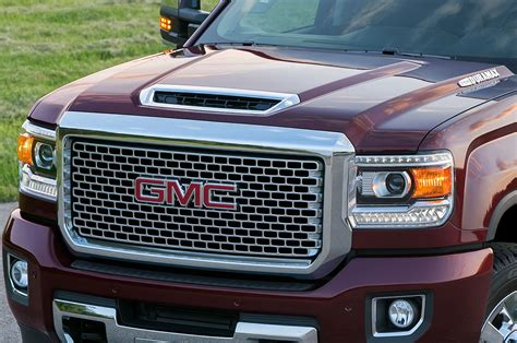 gmc truck photos gmc teases new duramax with photos of 2017 scoop