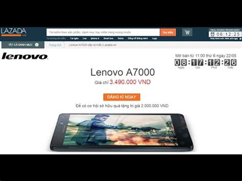 Hp Lenovo A7000 Di Lazada lazada b 225 n lenovo a7000 m 224 n h 236 nh 5 5 inch cpu l 245 i 8 2gb ram 226 m thanh dolby atmos gi 225 3 4
