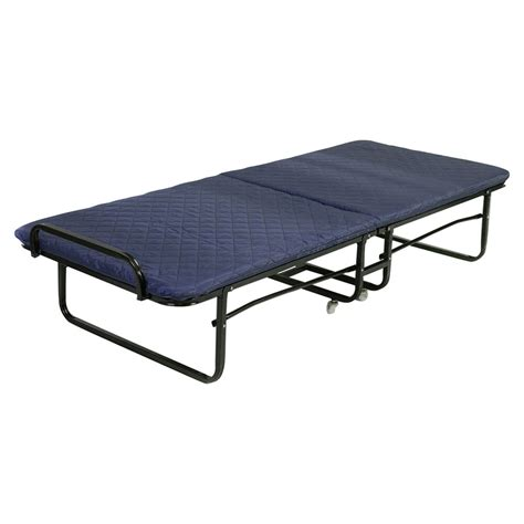Portable Beds by Folding Bed Foam Mattress Roll Away Guest Portable
