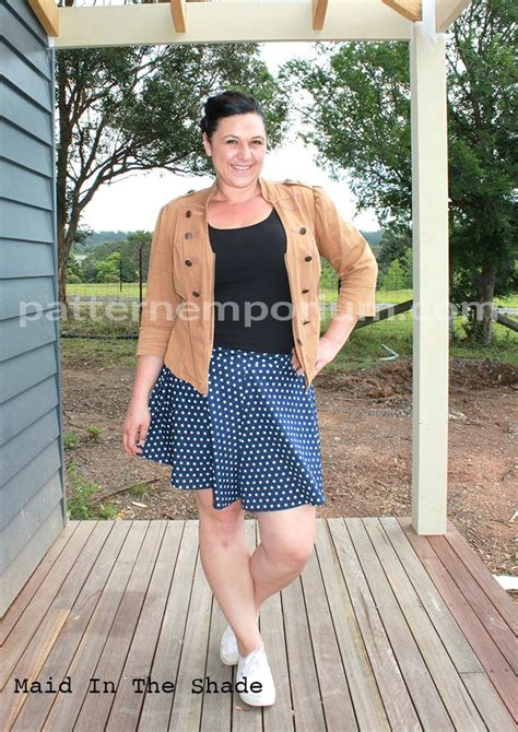 pattern emporium swing shorts ladies swing shorts sewing pattern in tailored or easy fit