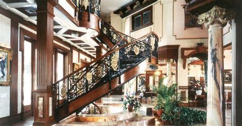 Gatsby Mansion Rich Houses Interior Great Gatsby Mediterranean Italian