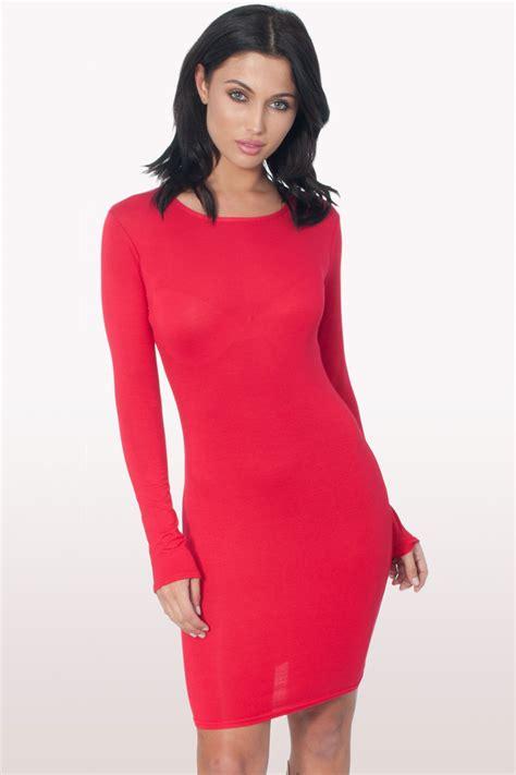 Sleeve Bodycon Dress sleeve bodycon dress dresses modamore