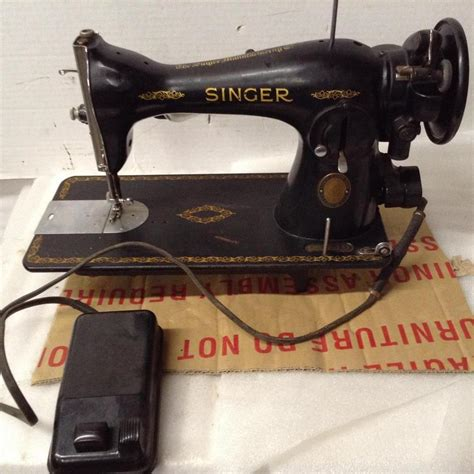 singer sewing machine model 15 serial aj301953 sm 267
