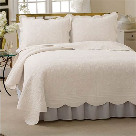 scalloped bedding scalloped french bedding bellacor