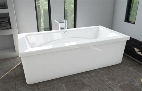 freestanding rectangular bathtub the fixture gallery oceania freedom rectangular
