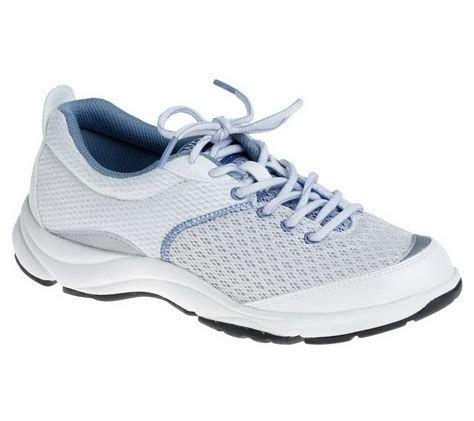 orthaheel sneakers dr weil by orthaheel rhythm white blue lace up sneakers