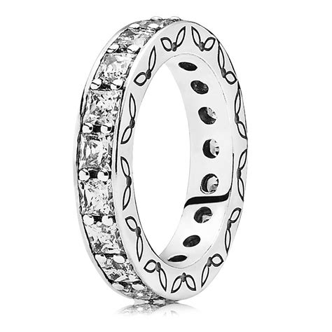 Pandora Symbol Of Infinity Clear Cz P 97 clear cz infinity ring retired cheap pandora rings silver pensplace