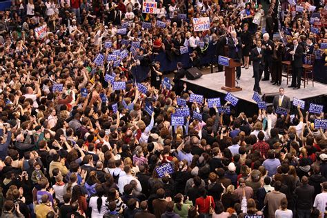 where are the obamas now file barack obama crowd and endorsers at hartford rally