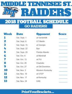 old dominion football schedule 2018 2018 printable old dominion monarchs football schedule