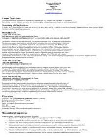 Roofing Estimator Sle Resume by Nick Martin Resume Estimator