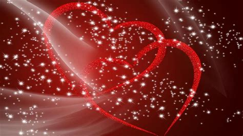 red hearts sweethearts love  glitter   hd