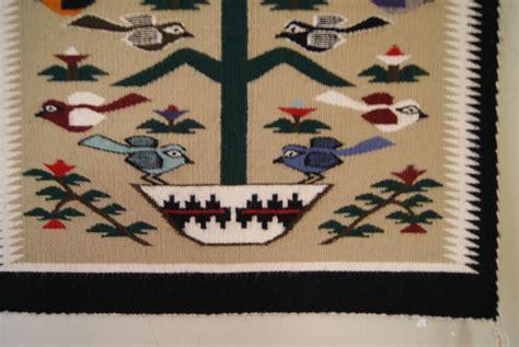 tree of navajo rug tree of pictorial navajo weaving by rena mountain