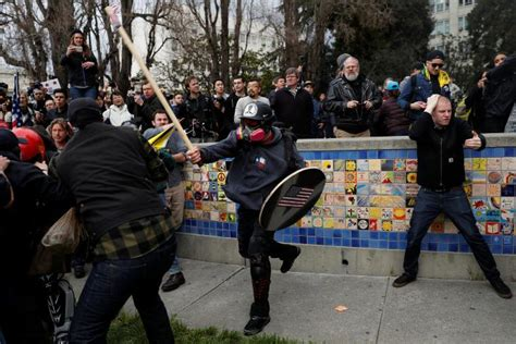Kyle Chapman Criminal Record Liberal Hypocrisy Berkeley Clashes Should Serve As Warning It S Going