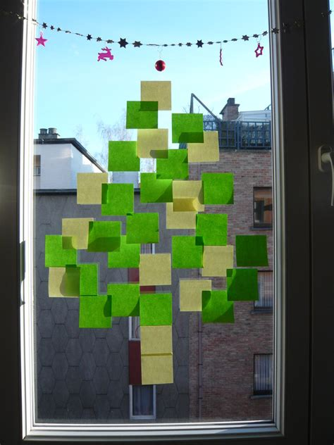 post it christmas tree post it tree by oussika on deviantart