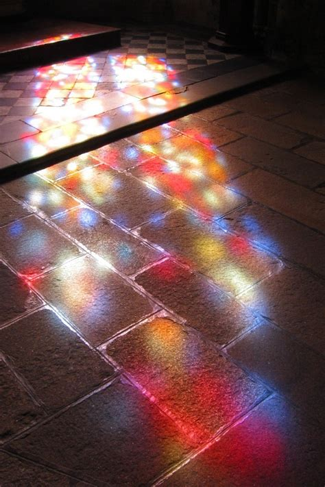 Light And by Light Through The Stained Glass By Pisab On Deviantart