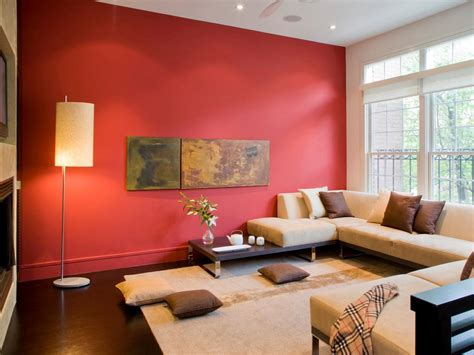 red living room walls photo page hgtv