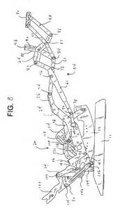 La Z Boy Recliner Parts List by Patent Us6945599 Rocker Recliner Mechanism Patents