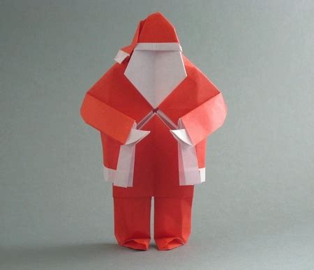 Santa Clause Origami - origami and santa claus 9 gilad s origami page