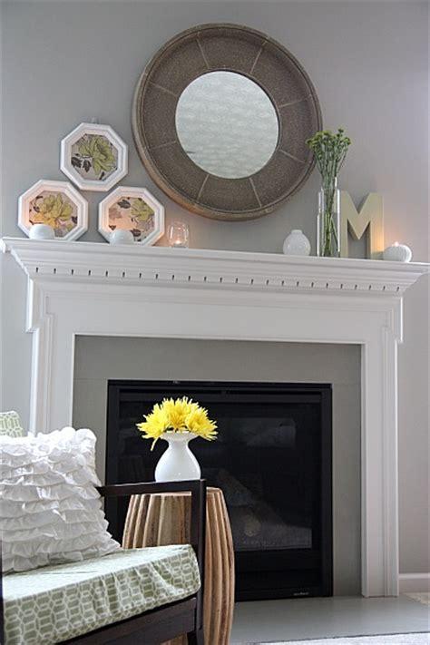 Grey Fireplace Mantel by Fireplace Inspiration 187 Decor Adventures