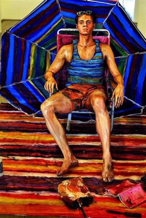 imagenes no realistas del cuerpo humano pinturas realistas de alexa meade marcianos