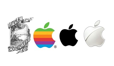 logo evolution apple from newton to polychrome the evolution of apple s logo