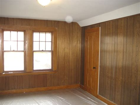 how to decorate wood paneling without painting paint paneling without sanding decorate pinterest