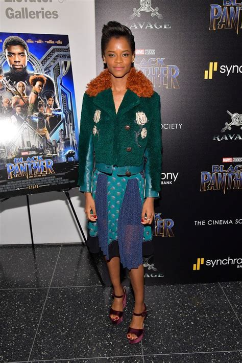 letitia wright instagram letitia wright in coach black panther new york