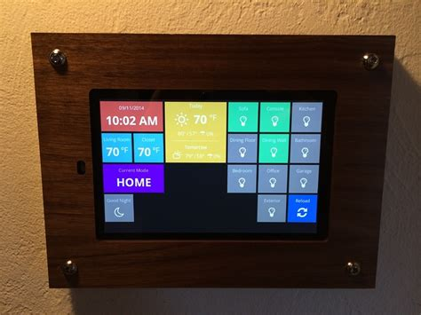 Hack For Home Design App home automation dashboard smartthings